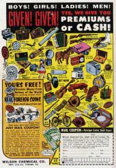 Verso de My greatest adventure Vol.1 (DC comics - 1955) -33- I Was Trapped in a Cosmic World!