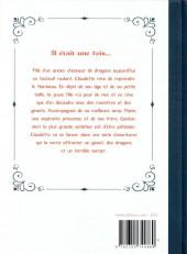 Verso de Les chroniques de Claudette - Tome INT