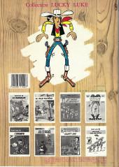 Verso de Lucky Luke -17b1983- Sur la piste des Dalton