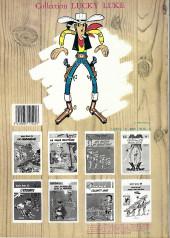 Verso de Lucky Luke -1b1985- La Mine d'or de Dick Digger