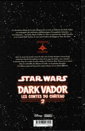Verso de Star Wars - Dark Vador : les contes du château -2- Tome 2