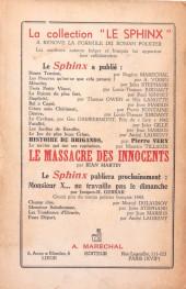 Verso de (AUT) Tillieux - Le Navire qui tue ses capitaines