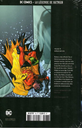Verso de DC Comics - La légende de Batman -7840- Batman et son
