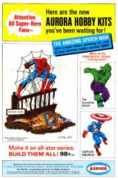 Verso de Fantasy Masterpieces Vol.1 (Marvel comics - 1966) -6- Issue # 6