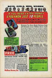 Verso de Fantasy Masterpieces Vol.1 (Marvel comics - 1966) -10- Issue # 10