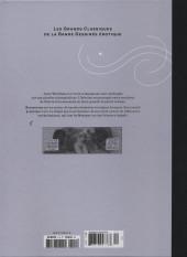 Verso de Les grands Classiques de la Bande Dessinée érotique - La Collection -112117- Nagarya - tome1