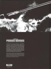 Verso de La geste des Princes-Démons -1TL- Le Prince des étoiles