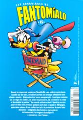 Verso de Picsou Magazine Hors-série Collector -20- Les chroniques de Fantomiald n°15