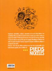 Verso de Pieds Nickelés (Le meilleur des) -5a2019- Taloches, traquenards et p'tites combines... les Pieds Nickelés mettent les gaz !