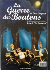Verso de La guerre des Boutons (Vernay/Khaz) -INTFL- Le trésor - La forteresse
