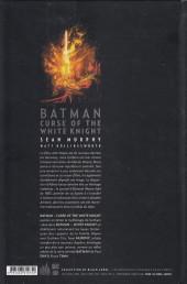Verso de Batman : Curse of the White Knight