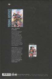 Verso de Young Justice -1- Prisonniers de Gemworld