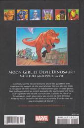 Verso de Marvel Comics - La collection (Hachette) -164124- Moon Girl et Devil Dinosaur : meilleurs amis pour la vie