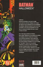 Verso de Batman : Halloween -2- Tome 2