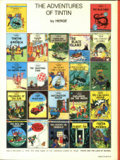 Verso de Tintin (The Adventures of) -3b1983- Tintin in America