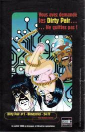 Verso de Birds of Prey - Black Canary -HC- Birds of Prey avec Catwoman