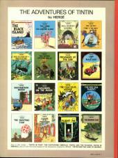Verso de Tintin (The Adventures of) -19a1979- The Red Sea Sharks