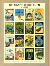 Verso de Tintin (The Adventures of) -12a1979- Red Rackham's Treasure