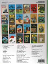 Verso de Tintin (Historique) -11D2012- Le secret de la Licorne