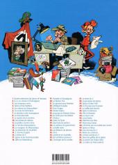 Verso de Spirou et Fantasio -29b2019- Des haricots partout