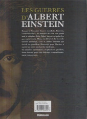 Verso de Les guerres d'Albert Einstein -2- Les guerres d'Albert Einstein 2/2