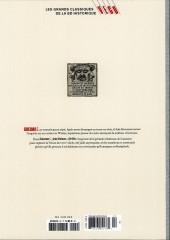 Verso de Les grands Classiques de la BD Historique Vécu - La Collection -24- Giacomo C. - Tome III : la Dame au coeur de suie