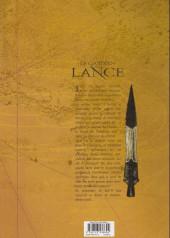 Verso de Le gardien de la Lance -1a2008- Les frères