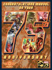 Verso de Marvel 75th Anniversary Magazine (Marvel comics - 2014) - Marvel 75th Anniversary Magazine