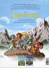 Verso de Les légendaires -2- Le Gardien