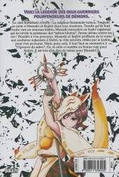 Verso de Orient - Samurai Quest -4- Vol. 4