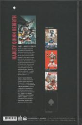 Verso de Harley Quinn Rebirth -9- Harley à l'épreuve