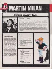 Verso de Martin Milan (2e Série) -5- L'enfant à la horde