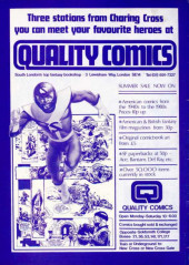 Verso de Warrior (Quality comics - 1982) -4- Issue # 4