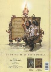 Verso de Le grimoire du petit peuple -1- Le crépuscule