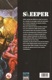 Verso de Sleeper (Semic) -1- À bout portant