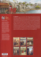 Verso de Un pape dans l'histoire -5- Clément V - Le Sacrifice des templiers