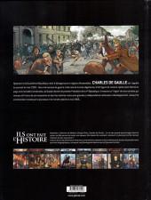 Verso de Ils ont fait l'Histoire -35- De Gaulle - Tome 3/3