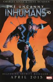 Verso de Uncanny X-Men (2013) -32- Fateful leap
