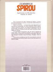 Verso de Spirou et Fantasio -2- (Divers) -H- Les mémoires de spirou