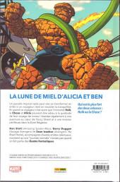 Verso de Fantastic Four (100% Marvel - 2019) -4- La Chose Vs l'immortel Hulk