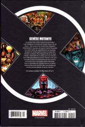 Verso de X-Men - La Collection Mutante -143- Genèse Mutante