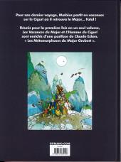 Verso de Mœbius œuvres - Les vacances du major - l'homme du Ciguri