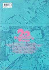 Verso de 20th Century Boys - Perfect Edition -1- Volume 1