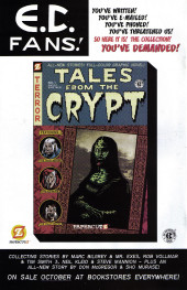 Verso de Tales from the Crypt Vol. 2 (Papercutz - 2007) -2- Issue # 2