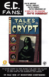 Verso de Tales from the Crypt Vol. 2 (Papercutz - 2007) -3- A Murderin' Idol!