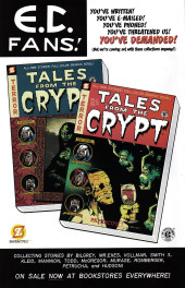 Verso de Tales from the Crypt Vol. 2 (Papercutz - 2007) -4- Issue # 4