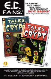 Verso de Tales from the Crypt Vol. 2 (Papercutz - 2007) -5- Issue # 5