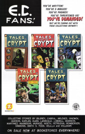 Verso de Tales from the Crypt Vol. 2 (Papercutz - 2007) -8A- Issue # 8