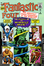 Verso de Official Marvel Index to the Fantastic Four (The) (Marvel comics - 1985) -1- Issue # 1