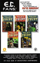Verso de Tales from the Crypt Vol. 2 (Papercutz - 2007) -9- Issue # 9